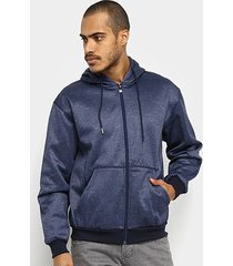 jaqueta de moletom broken rules bolso capuz masculina