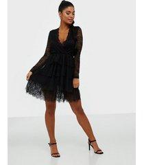 parisian lace and mesh tiered mini dress skater dresses
