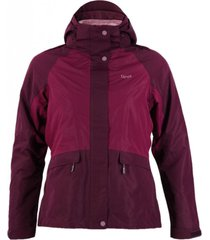 chaqueta tres cruces fusion-3 hoody purpura lippi