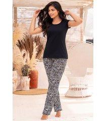 pijama mujer conjunto pantalón 11372