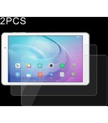 2 pcs huawei mediapad t2 10,0 pro 0.4mm 9h la dureza de la superficie de pantalla completa de vidrio templado vidrio protector de pantalla