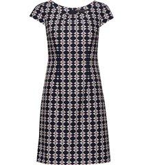 dress short 1/2 sleeve kort klänning multi/mönstrad betty barclay