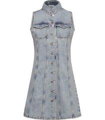 enspartacus sl dress 6742 korte jurk blauw envii