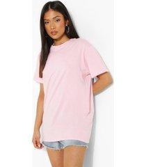 petite la vlinder t-shirt met rugopdruk, light pink