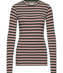 5x5 eco stripe tuba stripe t-shirts & tops long-sleeved multi/patroon mads nørgaard