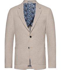 bs puglia slim blazer colbert beige bruun & stengade