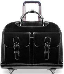 mcklein davis wheeled briefcase