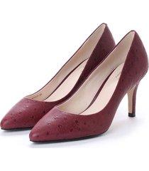 calzado mujer rojo juliana pump 75 cole haan