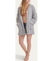 splendid women's teddy lounge jacket, online only