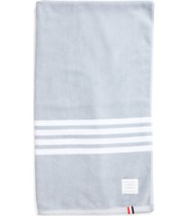 thom browne 4-bar large cotton towel, size - (nordstrom exclusive)