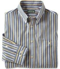 wrinkle-free pinpoint stripe shirt, xl
