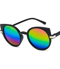 uomo donna retro cat eye occhiali da sole outdoor occhiali da vista uv thin face hd view sunglasses