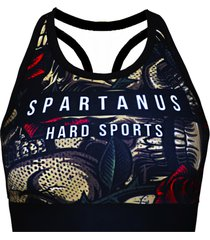 top draw spartanus fightwear preto