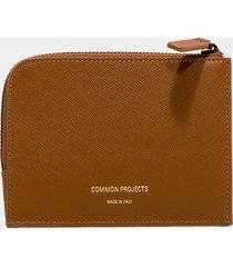 common projects portafoglio zipper marrone
