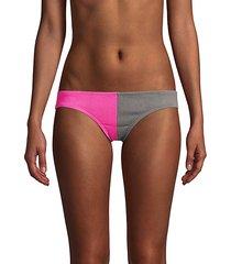 two-tone bikini bottom