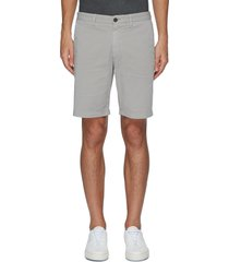 'zaine patton' cotton blend slim fit shorts