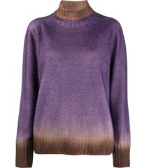 altea cisne tie-dye jumper - purple