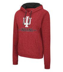 colosseum indiana hoosiers women's genius hooded sweatshirt