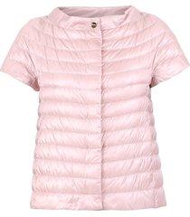 nylon padded cape jacket