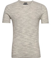 sweater t-shirts short-sleeved grå abercrombie & fitch