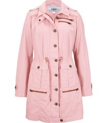 parka stile utility (rosa) - bpc bonprix collection