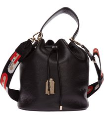 borsa donna a mano shopping in pelle sleek