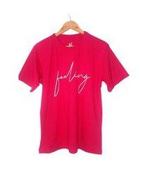 t-shirt k clothing feeling lilás