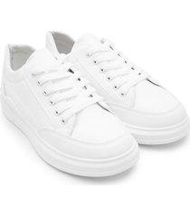 tenis blancos mujer color blanco, talla 38