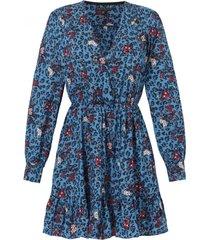 sukienka doris niebieska