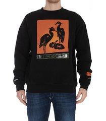 heron preston os herons sweatshirt