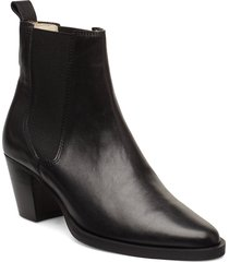 avenue chelsea shoes boots ankle boots ankle boots with heel svart royal republiq