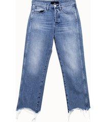 3x1 jeans austin crop cinque tasche