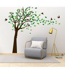 vinilo tingo tango hojas al viento - mediano 160 x 135 cm