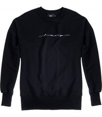 bluza crewneck over-arm harp