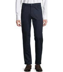 perry ellis women's slim-fit stretch-cotton pants - dark sapphire - size 40 32