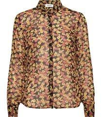 annabelle print shirt långärmad skjorta multi/mönstrad modström