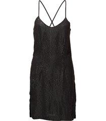stevey cami dress kort klänning svart hunkydory