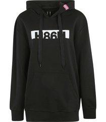 hogan rear zip hoodie