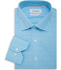 contemporary-fit madras plaid shirt