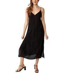 cotton on woven veronica v midi slip dress