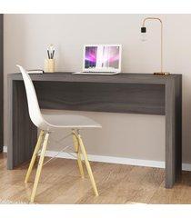 mesa escrivaninha me4135 carvalho - tecno mobili