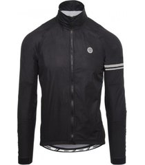 agu fietsjack men premium event rain jacket black
