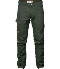 pantalón greenland jeans reg verde petróleo fjall raven