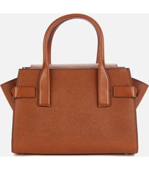 michael michael kors women's carmen small flap satchel - luggage
