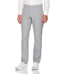 pantalón gris calvin klein chino infinite style tech suit