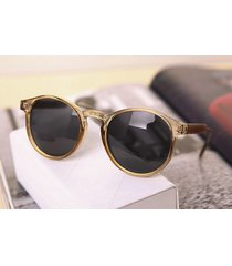 brand designer round sunglasses women men vintage