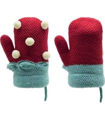 guantes marcelino rojo topsoc