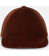 ami corduroy patch cap |cognac| 19a222.234 cog