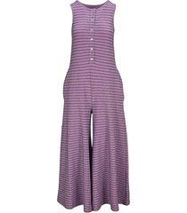 mm6 stripes lurex jumpsuit
