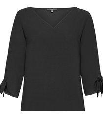 blouses woven blus långärmad svart esprit collection